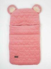 Roze Kinderhop Babyslaapzak 45 x 80 cm Dream Catcher HEARTS STRAWBERRY - Baby sleeping bag