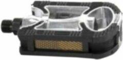 Mirage tour platformpedalen antislip zwart/zilver 9/16 inch