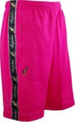 Australian korte broek roze acetaat maat M/48