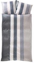 Bettwäsche, JOOP!, »Cornflower Stripes«, mit Kornblumen-Muster & Streifen