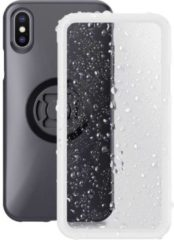 SP Connect SP WEATHER COVER IPHONE X Smartphonehoes Doorzichtig, Zwart