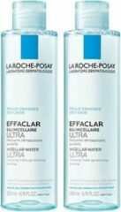 La Roche-Posay Effaclar Micellair Water - 2x200ml - reinigt vette huid