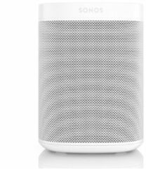 Witte Sonos Sonos One smart speaker met Google Assistant stembediening