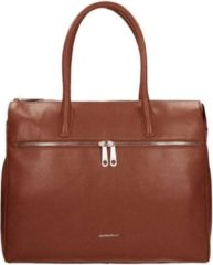 "Bruine Gigi Fratelli Romance Lady Businessbag 15"" brandy"