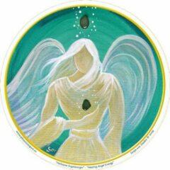 Witte Yogi & Yogini Raamsticker Healing Angel Energy - 10.5 (3 stuks) - S