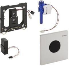 Geberit HyTronic urinoir stuursysteem infrarood batterij met bedieningsplaat Mambo RVS 116.033.FW.1