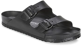 Afbeelding van Zwarte Birkenstock Men's Arizona EVA Double Strap Sandals - Black - EU 44/UK 9.5