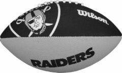 Grijze Wilson F1534XB NFL Team Logo American Football Raiders