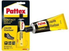 Gele Pattex Profi Contactlijm - Contact lijm - Vloeibaar - 50 g