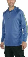 Blauwe Carhartt FISHING HOODED T-SHIRT L/S