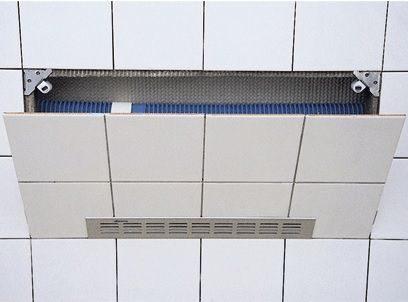 Afbeelding van Walraven badinspectieluik Alpro 2000, aluminium, chroom, atl tegels universeel