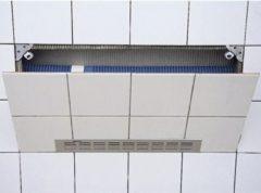 Walraven badinspectieluik Alpro 2000, aluminium, chroom, atl tegels universeel