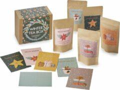 ChaCult Thee Cadeau - Thee Cadeaupakket - Geschenkset - Thee – Winter Thee Box - 5 soorten thee