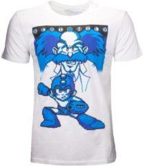 Difuzed Mega Man Heren Tshirt -M- Beat Wily Wit