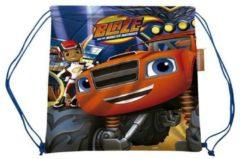 Nickelodeon Blaze Monster Machines - Gymbag - Blauw
