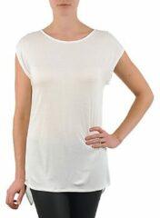 Witte T-shirt Korte Mouw La City TS CROIS D6