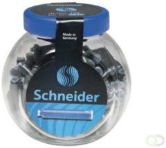 Inktpatronen Schneider container à 100 stuks koningsblauw