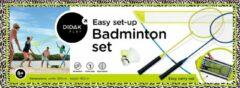 Blauwe Didak Play Easy Set-Up Badminton Set - 360x160 Cm