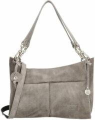 Grijze SoDutch #12 shopper/handtas light grey