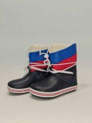 Snowboots - Wit Blauw Rood - Maat 28