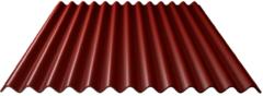 Westwood Golfplaat bitumen | Topline | Rood | 86 x 200 cm