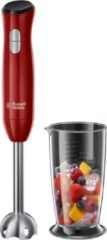 Russell Hobbs Desire Staafmixer 0.7l 500W Rood, Roestvrijstaal blender
