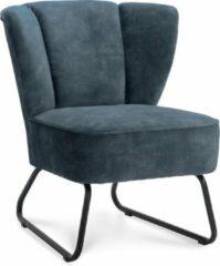 Happy Chairs - Fauteuil Enrique - Velvet Petrol