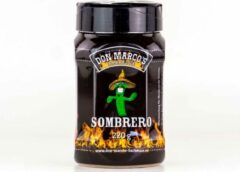 Don Marco's Barbecue Don Marco's - Sombrero - BBQ RUB - 220 gram