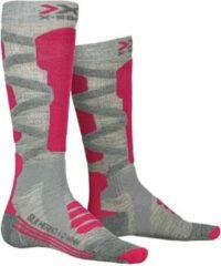 X-socks Skisokken Merino 4.0 Dames Polyamide/wol Roze Mt 37-38