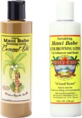 Maui Babe – Browning Lotion With Coconut Oil & After sun