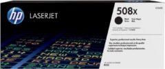 Zwarte HP 508X - CF360X - Tonercartridge / Zwart / Hoge Capaciteit