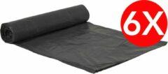 Zwarte Merkloos / Sans marque Vuilniszakken 160L - 90x125cm - 6 x 10 stuks - Voordeelverpakking