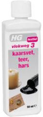 HG Vlekweg nr 3 kaarsenvet hars etc 50 Milliliter