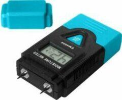 Blauwe ABC-Led Vochtmeter Bouwmaterialen en Omgevingstemperatuur
