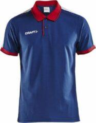 Marineblauwe Craft Sportieve polo Pro Control Heren Poloshirt Maat M