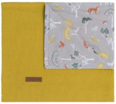 Baby's Only Forest Wiegdeken Mustard 70 x 95 cm