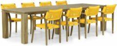 Gele Lifestyle Garden Furniture Lifestyle Dallas/Brighton 300 cm dining tuinset 9-delig