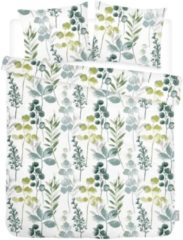 ISeng Floral - Dekbedovertrek - Tweepersoons - 200x200/220 cm + 2 kussenslopen 60x70 cm - Groen