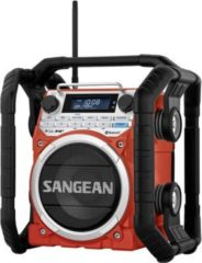 Sangean U4 DBT Outdoorradio mit Bluetooth in der Farbe Rot