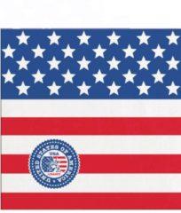 FOLAT BV - 20 kleine papieren USA servetten - Decoratie > Papieren servetten