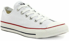 Witte Converse Chuck Taylor All Star Sneakers Laag Unisex - Optical White - Maat 39.5