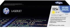 HP 125A CB542A Tonercassette Geel 1400 bladzijden Origineel Tonercassette