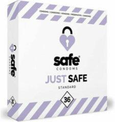 Blauwe Safe - Just Safe Condooms Standard 36 stuks - Condooms