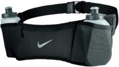 Zwarte Nike Double Pocket Flask Belt 2.0 - 20oz