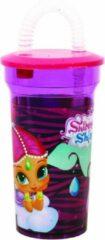GeBoWeb Giovas Drinkbeker Disney Shimmer And Shine 400 Ml Paars