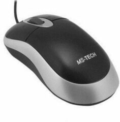 Grijze Ultron Mouse UM-100 basic optical USB