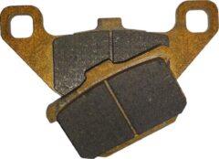 Gouden Motor remblokken voorzijde Kawasaki LTD 454 1986 - 1989 LTD454 EN 450 YMP085 remblok rem voor