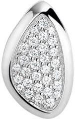 Zilveren The Jewelry Collection Hanger Zirkonia - Zilver Gerhodineerd
