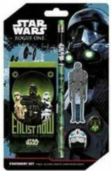 Groene Hole in the Wall Star Wars Rogue One Stationary Set