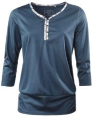 Loungeshirt mit 3/4-Arm Calida dark denim